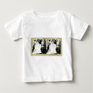 The Engagement Series Classic Stereoview Cards Baby T-Shirt
