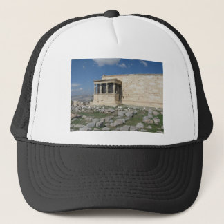 The Erecthion is part of ancient Greek Acropolis Trucker Hat
