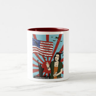 The ''Ethel Merman NYC Pearl Harbor WW2'' Mug