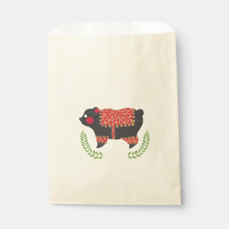 The Ethnic Bear Favour Bags