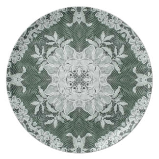 The European Lace Plate