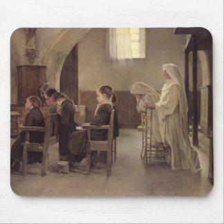 The Eve of the First Communion, before 1890 Mouse Pad