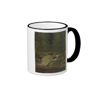 The Evergreens by the Waterfall Coffee Mugs