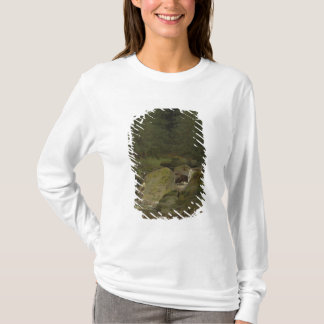The Evergreens by the Waterfall T-Shirt