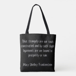 The Evolution of Snow Bass tote bag