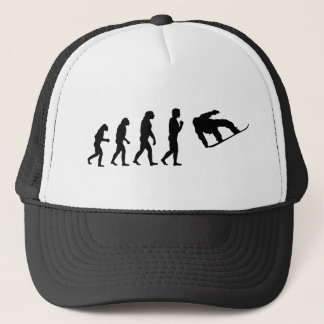 The Evolution Snowboarding Trucker Hat