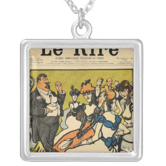 The Explorersfrom the front cover of Le Rire Silver Plated Necklace