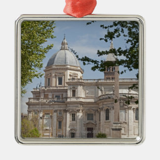 The exterior of Saint Maria Maggiore church in Christmas Ornament