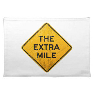 The Extra Mile Cloth Placemat