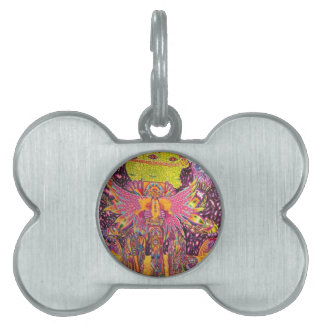 The Eye of the Heart Pet Name Tag