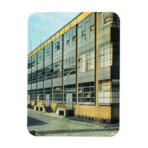 The Fagus Shoe Factory, designed by Walter Gropius Magnets