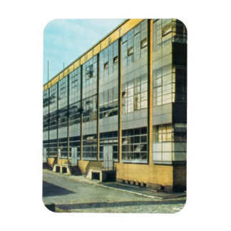 The Fagus Shoe Factory, designed by Walter Gropius Rectangular Photo Magnet