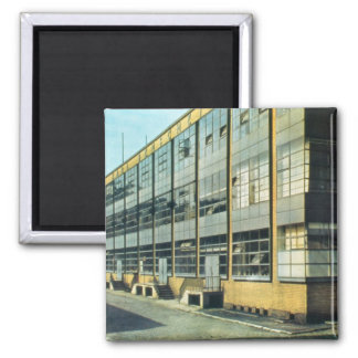 The Fagus Shoe Factory, designed by Walter Gropius Square Magnet