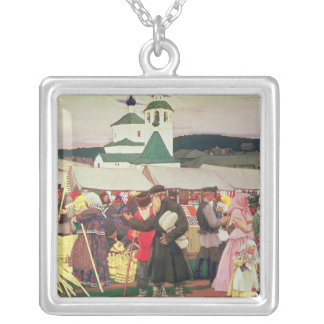 The Fair, 1906 Silver Plated Necklace
