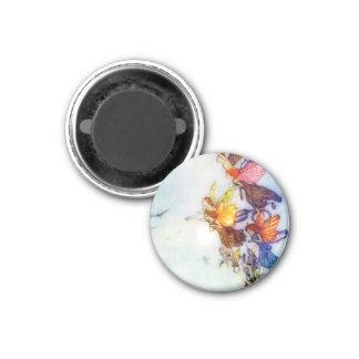 The Fairies round magnet