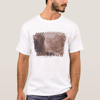 The Fall of the Clyde, engraved by Charles Turner T-Shirt