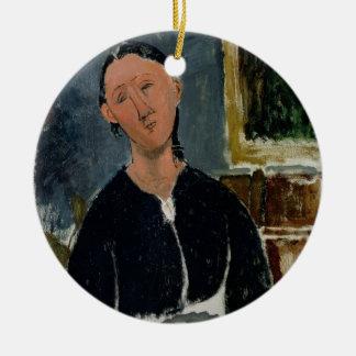 The Fantasist (oil on canvas) Christmas Ornament