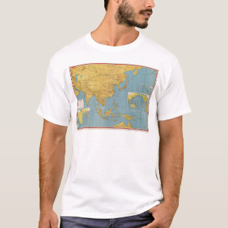 The Far East and Adjoining Areas (Map 1943) T-Shirt