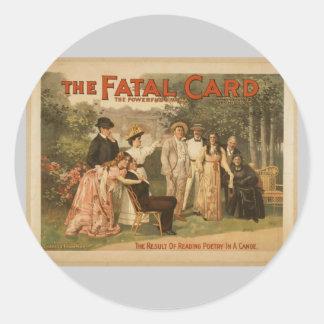 The Fatal Card Sticker