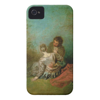 The Faux Pas, c.1717 (oil on canvas) iPhone 4 Cover