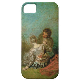 The Faux Pas, c.1717 (oil on canvas) iPhone 5 Cases