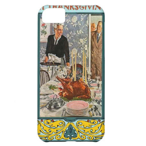 The feast is on the table iPhone 5C case