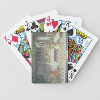 The Feast of Herod, from the cycle of The Lives of Bicycle Poker Deck