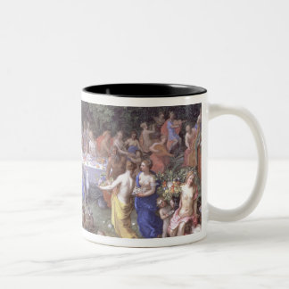 The Feast of the Gods (oil on canvas) Coffee Mug