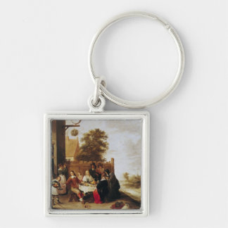 The Feast of the Prodigal Son, 1644 Keychain