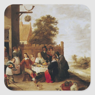 The Feast of the Prodigal Son, 1644 Stickers