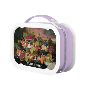 the feast vintage fine art lunch box