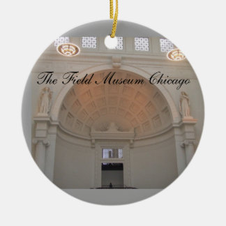 The Field Museum Chicago Christmas Ornament