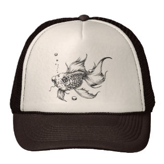 The Fighting Fish- Hats
