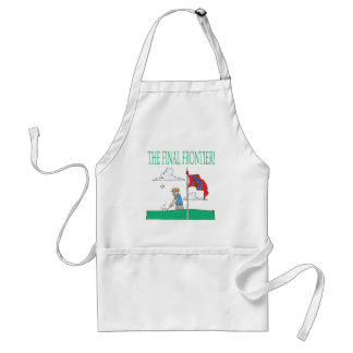 The Final Frontier Adult Apron