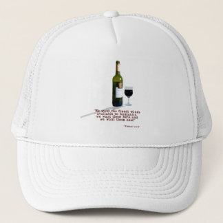 The Finest Wines Trucker Hat