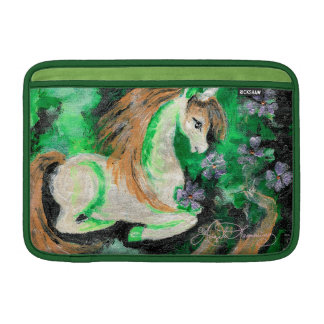 The Finger Painted Unicorn Sleeve For MacBook Air