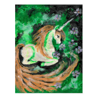 The Finger Painted Unicorn Postcards
