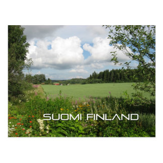 The Finnish Countryside Postcard