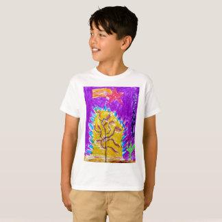 "The ""Fire Tree"" boys T shirt! T-Shirt"