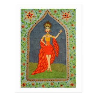 The Firebird (Fairy Tale Fashion #1) Postcard