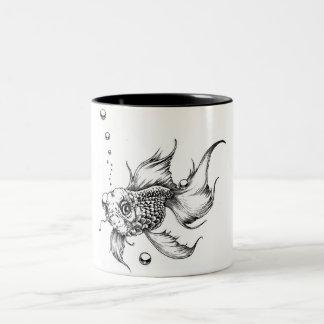 The Fish Two-Tone Coffee Mug