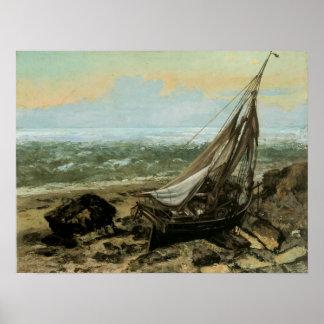 The Fishing Boat; 1865 Print