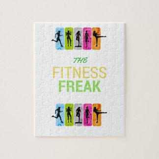 The Fitness Freak-Lemon Jigsaw Puzzle