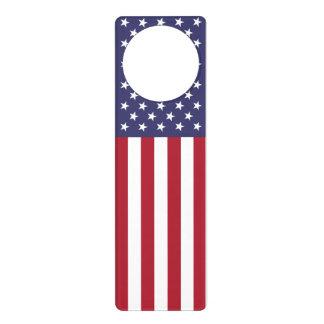 """""""THE FLAG"""" DOOR KNOB HANGER"""