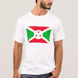 The Flag of Burundi T-Shirt for Men.