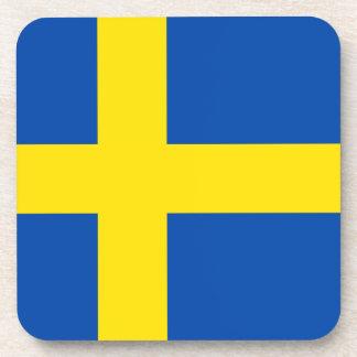 The Flag of Sweden Coaster