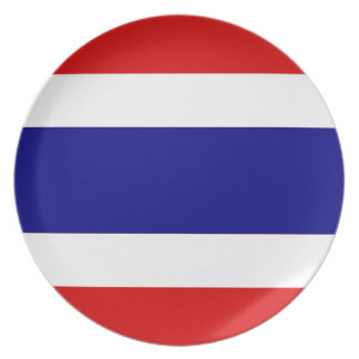 The Flag of Thailand Plate
