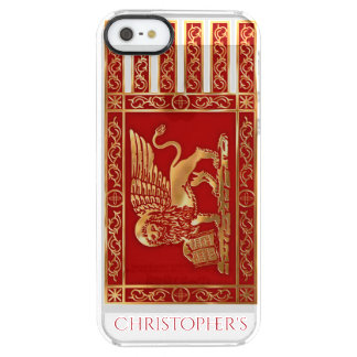 The Flag Of The Republic Of Venice, Italy Clear iPhone SE/5/5s Case