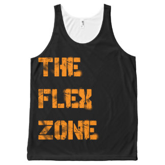 The Flex Zone All-Over Print Tank Top