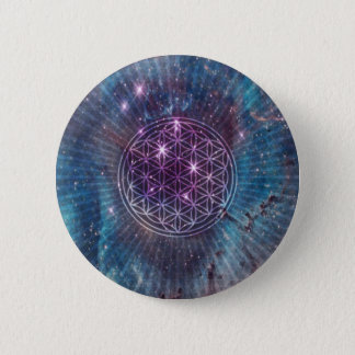The Flower 6 Cm Round Badge